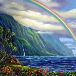 """""""Somewhere Over The Rainbow Lies Heaven and Earth -"""" by TropicalExpression"""