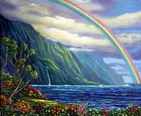 Somewhere Over The Rainbow Lies Heaven and Earth -