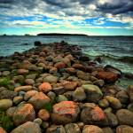 """IMG_7742_HDR_rock_pier"" by oh2gfy"