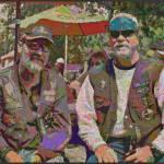 """Biker Friends"" by TomZimmer"