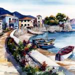 """Nafpaktos"" by WillyDaleArt"