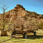 """Palo Duro Canyon Wagon"" by TomZimmer"
