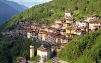 Italian Village in the Alps