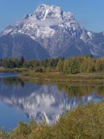 Mt Moran of Teton Range