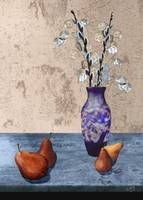 Pears and Dried Floral