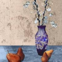 Pears and Dried Floral by I.M. Spadecaller
