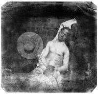 Self Portrait as a Drowned Man by Bayard (1840)