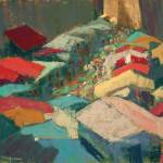 """Sarlat, Market Day"" by LynnMorgan"