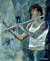 Playing the flute 45