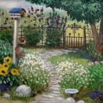 """""""Birdhouse Garden"""" by SeiterArt"""