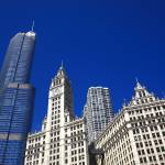 """""""Chicago Skyline"""" by Ffooter"""