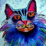 """WATERCOLOR KITTY"" by pjaysart"
