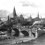 """HM0374 Princes Bridge Melbourne circa 1888"" by nevilleprosser"