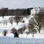 """Wintertime Mansion Vista"" by JohnGaffen"