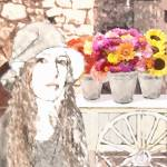 """""""Portrait of a Flower Lady"""" by spadecaller"""