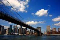 Brooklyn Bridge - New York City Skyline 2009
