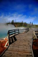 Yellowstone Park - West Thumb Geyser Basin