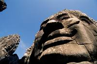 Mysterious smiles of the Bayon