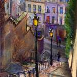 """Paris Montmartre"" by shevchukart"