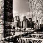 """Manhattan from Brooklyn Bridge"" by dennisherzog"