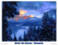 Yosemite - After the Storm