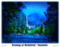 Yosemite - Evening at Bridalveil