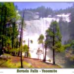 """Yosemite - Nevada Falls"" by pixeltone"