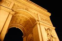 Arc de Triomphe-Night