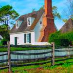 """Colonial Williamsburg Gloucester Street Cottage"" by JTPatterson"