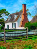 Colonial Williamsburg Gloucester Street Cottage
