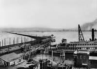 Key Route Basin from Key Route Pier, c.1910 by WorldWide Archive