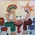 """""""Afternoon Cafe"""" by susanspencerart"""