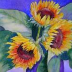 """Sunflowers II"" by lindahaile"