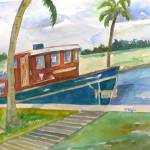 """Boat on the Dock"" by dianeelgin"