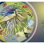 """Spiral of Life III: Animal Evolution"" by jiricou"