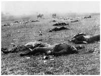 The Harvest of Death - Gettysburg by O'Sullivan