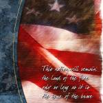 """""""Antique Flag Greeting Card"""" by William63"""