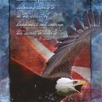 """""""Liberty Troop Support Greeting Card"""" by William63"""
