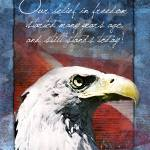 """Eagle Troop Support Card - Belief in Freedom"" by William63"