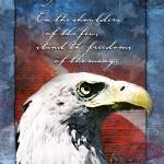 """""""Eagle Troop Support Freedom Card"""" by William63"""