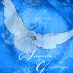 """Christmas Dove Greeting Card"" by William63"