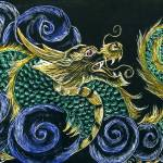 """chinese dragon in clouds"" by Enchantments"