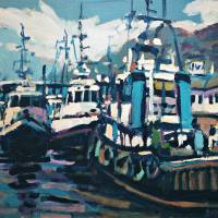 """TUGBOATS"" by Brian Simons"