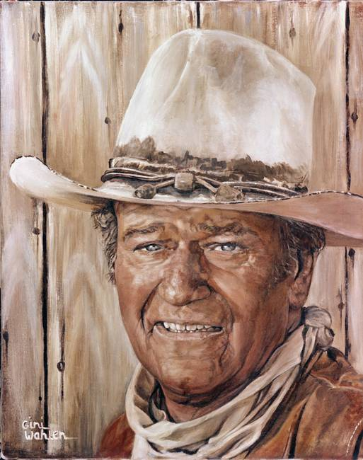 John Wayne By Gini Wahlen