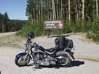 FatBoy at the Continental Divide