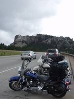 Harleys at the Monument