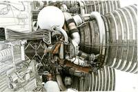 Saturn V Rocket Engine