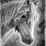"""Leaf Horse"" by silverwind"