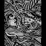 """Abstract Detailed Ink Drawing"" by NadiaAbuhakmeh"