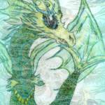 """Water Dragon"" by ecnchantedart"